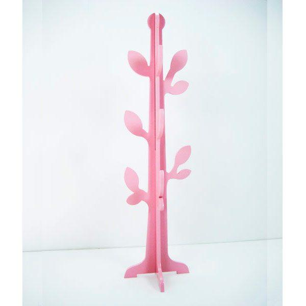Árbol hojas rosa