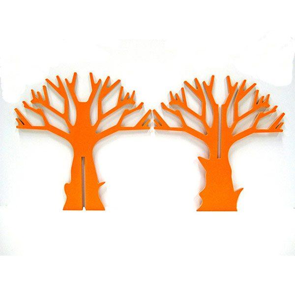 Árbol amor naranja desmontado