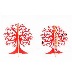 Joyero árbol rojo