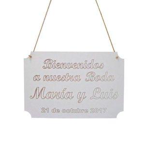 Cartel bodas