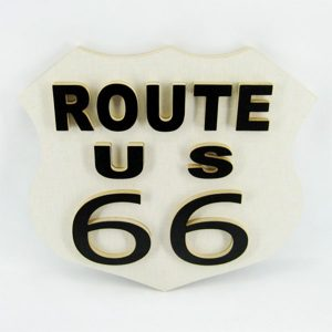 Cuadro ruta 66