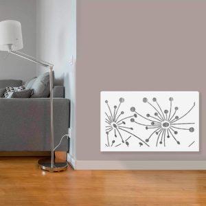 Cubreradiador amapola