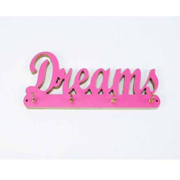 Cuelgallaves dreams rosa