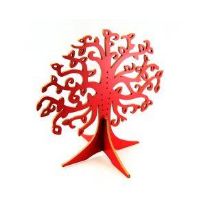 Joyero árbol vida rojo