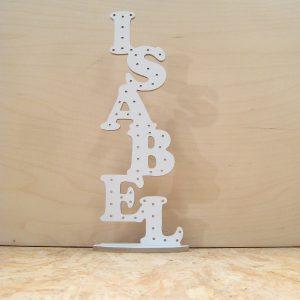Joyero nombre Isabel