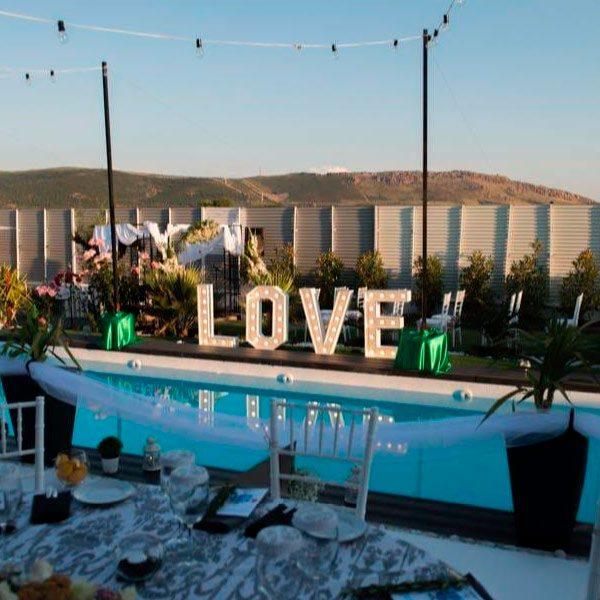 Letras Love para boda