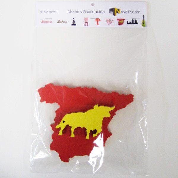Mapa España toro