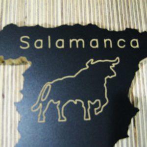 Mapa España toro Salamanca