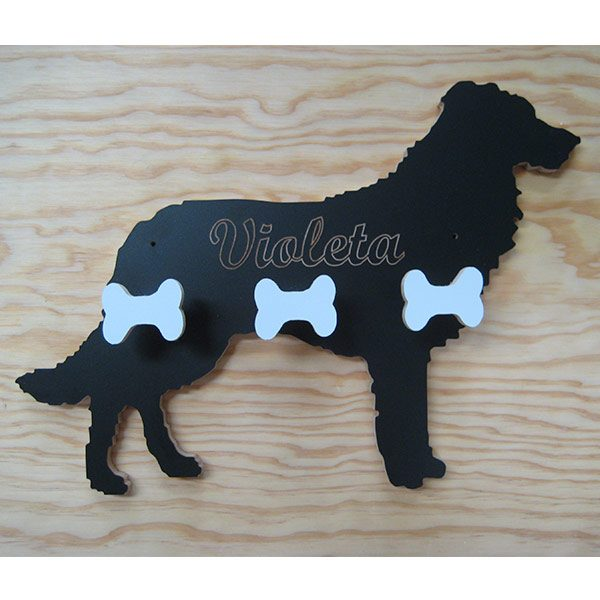 Perchero Border Collie nombre