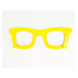 Perchero gafas amarillas