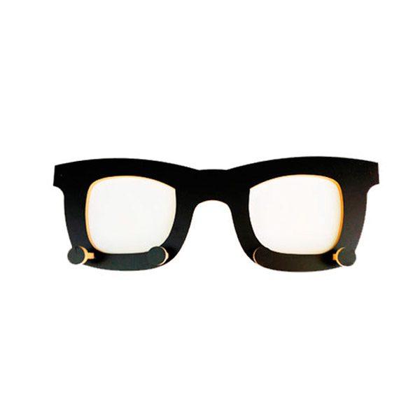 Perchero gafas frente