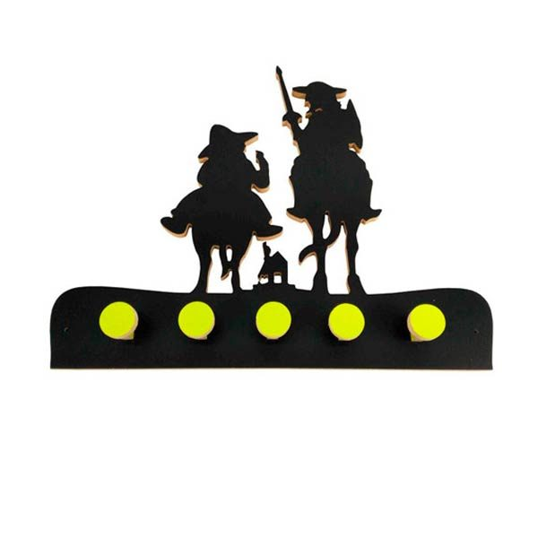 Perchero Quijote Sancho