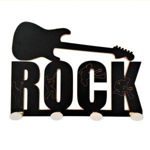 Perchero Rock siluetas