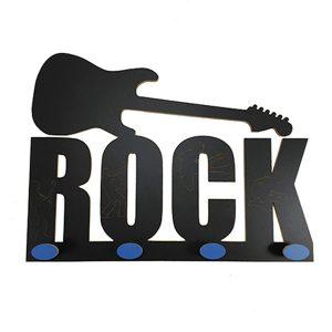 Perchero Rock pomo azul