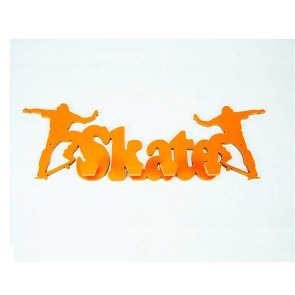 Perchero Skate naranja