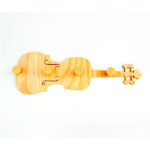 Perchero violín
