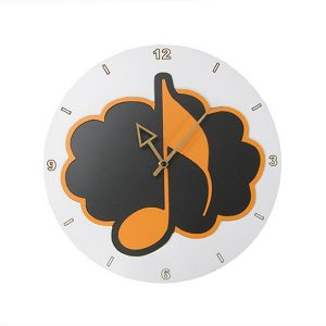 Reloj nota musical