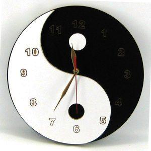 Reloj yin yan