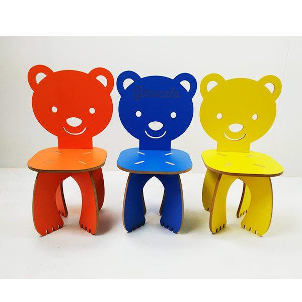 Silla infantil colores